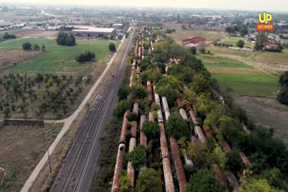 Μια ανάσα από τη Θεσσαλονίκη: Δείτε που βρίσκεται ένα από τα μεγαλύτερα «νεκροταφεία» τρένων στον κόσμο