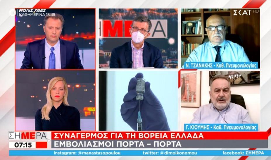 Κορονοϊός: Εφιαλτική πρόβλεψη από τον Νίκο Τζανάκη - 2.700 θάνατοι επιπλέον μέχρι τα Χριστούγεννα